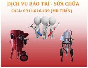 Sửa Chữa Máy Phun Bi – Phòng Phun Bi