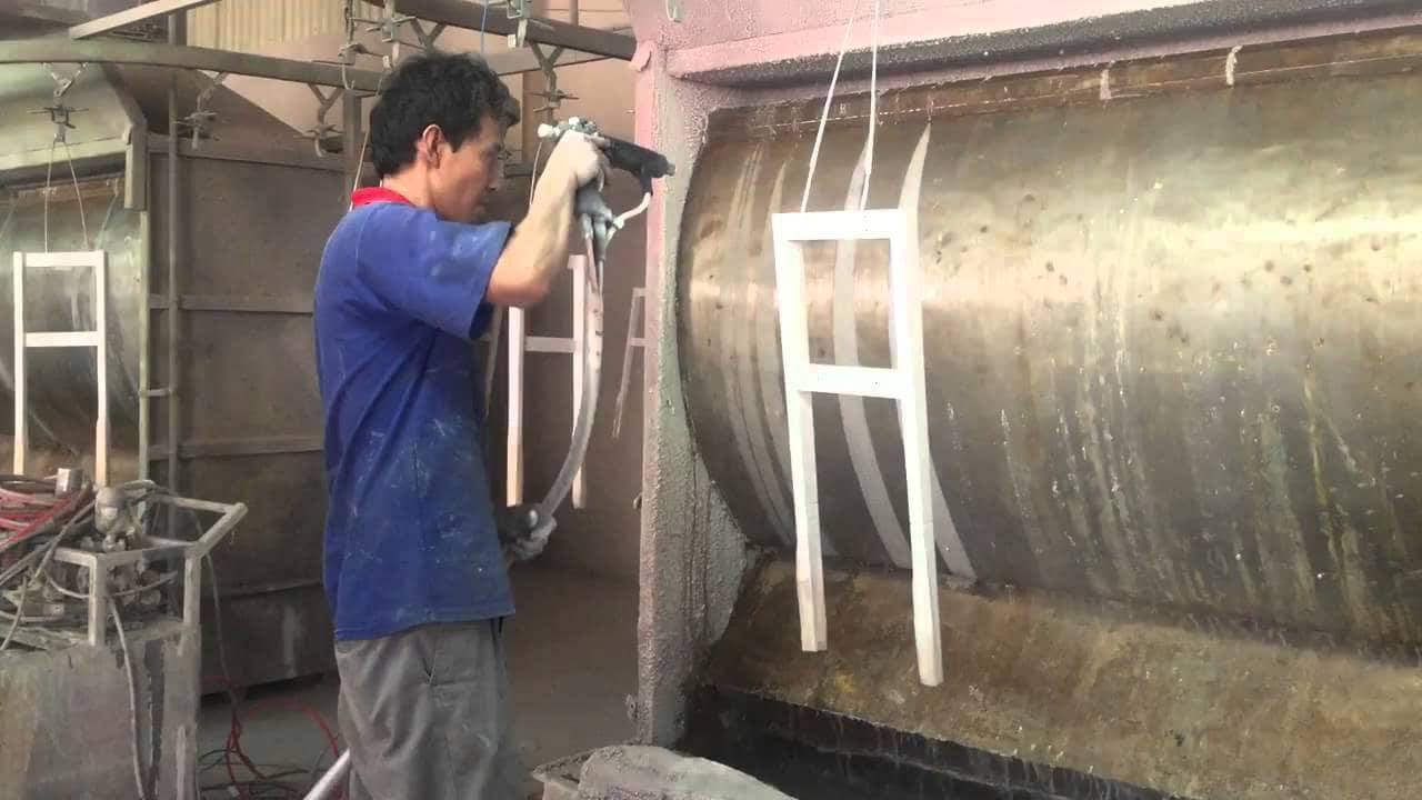 Bảng Giá Gia Công Phun Sơn Bồn Bể 2019